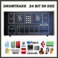Sequential Circuits DrumTraks vintage drum machine original 24 bit 96Khz 24bit 96 khz sample