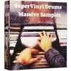 Vinyl drums hip hop beat grimey loop soul vintage sample