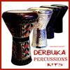 Derbuka darbuka darabuka doumbek Arabic percussion sound