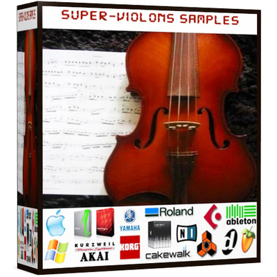 Product picture Violon String orchestra reason refill kontankt logic exs24