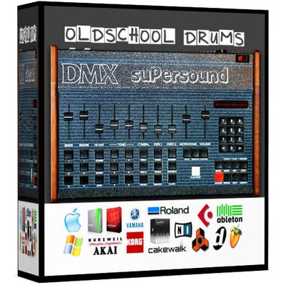 Product picture Oberheim DMX Wav Drum Kit Samples 24 bit 96Khz 24bit sample
