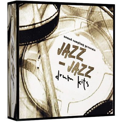 Product picture JAZZ DRUMS REASON REFILL 5 KONTAKT 4 LOGIC EXS24 AKAI MPC