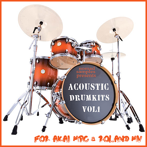 Product picture ACOUSTIC DRUMS 1 AKAI MPC STUDIO RENAISSANCE 1000 2500 5000