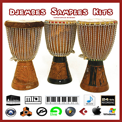 Product picture Djembe africa african percussion reason maschine mikro sf2