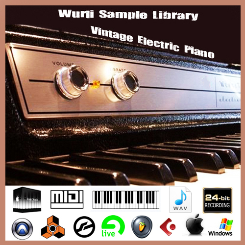 Product picture Wurlitzer 200a 270 butterfly vintage piano sample wav sound