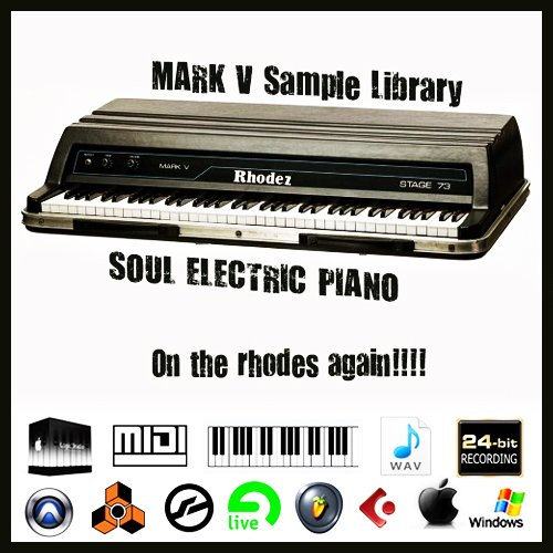 Product picture Fender rhodes Piano mark v stage 73 vintage sound wav sample