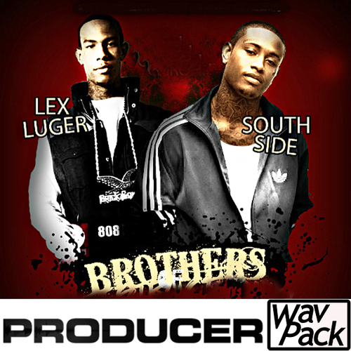 Product picture lex luger south side 808 Trap dirty south tr808 fl studio 11