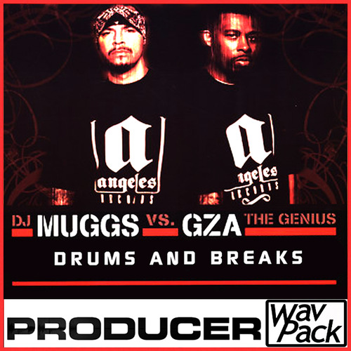 Product picture hip hop drum loop break rap breakbeat sound fl studio GZA Dj muggs Kit